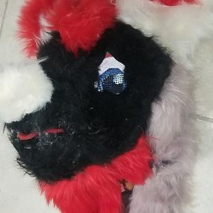 Other - A fursuit head with hand paws and a tail
